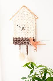 How To Fix A Cuckoo Clock Yarn Cuckoo Clock Wall Hanging One Dog Woof