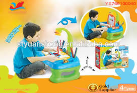 Drawing Desk Kids Multifuction Kids Drawing Desk 3 In 1 Musical Projector Painting