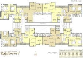 2 Bhk Floor Plans Rainforest 1 2 2 5 Bhk Apartment Floor Plans Twin Villas