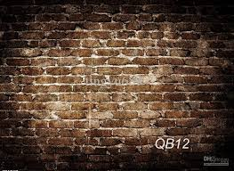 2018 wholesale brick wall photo backdrop indoor studio photography