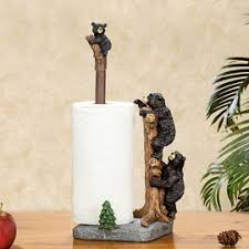 unique free standing toilet paper holder unique creative free standing black bear toilet paper towel holder