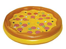 amazon com swimline personal pizza pool float toys u0026 games