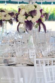 Feather And Flower Centerpieces by 104 Best Wedding Centerpieces Images On Pinterest Centerpiece