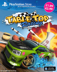 table top racing cars table top racing on playstation vita price permanently dropped 65