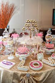 7 best pink and gold candy buffet images on pinterest candy