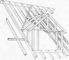 Hipped Dormer Hipped Roof With Dormer Plan Fig 97 A Dormer Window House