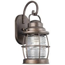 Nautical Outdoor Sconce Beacon 1 Light Medium Nautical Outdoor Lighting Wall Lamp