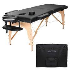 used portable massage table for sale amazon com saloniture professional portable folding massage table