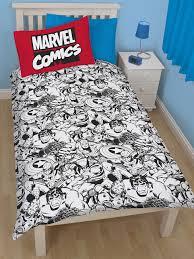 Avengers Duvet Cover Single Comics Defenders Reversible Single Duvet Cover Bedding Set