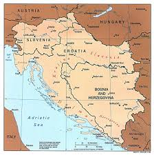 Political Map Of Western Europe by Large Political Map Of Western Balkans With Major Cities 1997
