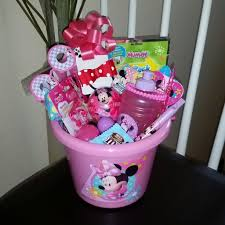 minnie mouse easter baskets minnie mouse easter basket gift house of mel