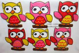 cristin u0027s cookies obsession with owls owl cookies u0026 free