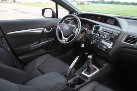 Honda Civic 2010 Interior 2013 Honda Civic Si Sedan Editors U0027 Notebook Automobile Magazine