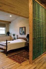 Shutter Room Divider Loft Living Antique Shutters Room Divider Store Design Ideas