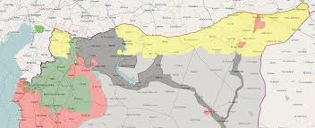 syria on map how ypg intends to occupy northern syria map update