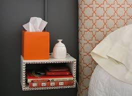 Floating End Table by Diy Idea Build A Simple Floating Nightstand Photo Huffpost