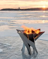 Personalized Fire Pit by Buy A Hand Made Modern Outdoor Patio Stainless Steel Fire Pit