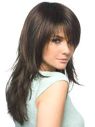 in front medium haircuts unique womens hairstyles short in back long in front womens medium