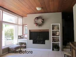 ranch house living room before and after classic casual home