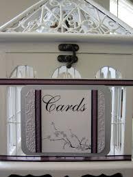 birdcage card holder