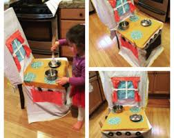 play kitchen stove chair cover for kids 7 funnycrafts
