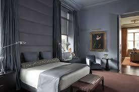 chambre st駻ile murs et ameublement chambre tout en gris tendance