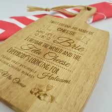 engraved cheese board limited edition engraved cheese board personalized favors