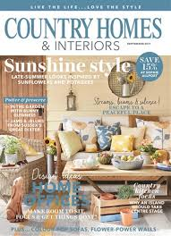 country homes and interiors magazine subscription country homes interiors magazine september 2017 subscriptions