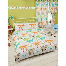 Dinosaur Single Duvet Set Dinosaur World Double Duvet Cover Bedding Bedroom T Rex Quilt