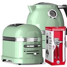 Toaster Kitchenaid Kitchenaid Artisan Pistachio 2 Slot Toaster And Kettle Set Harts