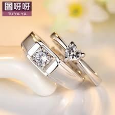 harga wedding ring cek harga dan qualitas korean diamond zircon opening