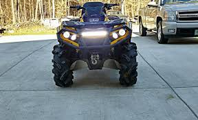 can am outlander tail light bulb led light bar pictures page 4 can am atv forum