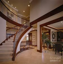 stair captivating home interior design ideas using curved