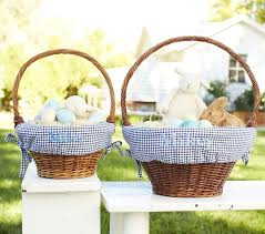 easter basket liners personalized navy gingham easter basket liners and baskets easter ideas for