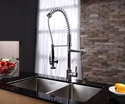 kitchen cool stainless steel kitchen sink combination and kraus