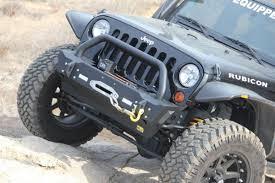 jku jeep truck tjm jeep wrangler jk stubby rock crawler front winch mount bumper