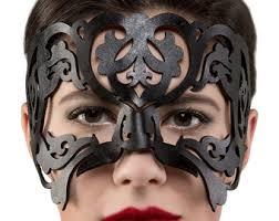 Black Mask Halloween Costume Halloween Costumes U0026 Accessories Etsy