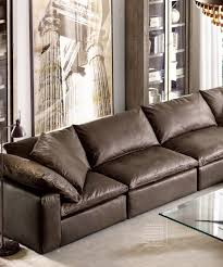Pottery Barn Turner Sofa by Rh Cloud Leather Sofa I Want It In White Alluring Decor