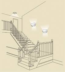 hall and stairs lighting energy star fixtures guide hallway stairway energy star