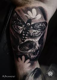 wonderful butterfly and skull design idea golfian com