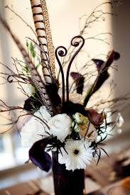 Wedding Feathers Centerpieces by 60 Best Feather Floral Arrangements Images On Pinterest Marriage