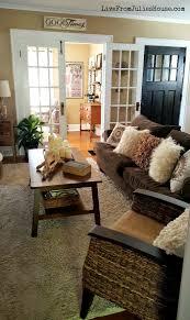 monochromatic boho living room live from julie u0027s house
