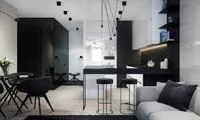 monochromatic living rooms designs by style complex monochromatic living room magnetic lights