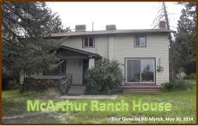 mcarthur ranch homestead tour historic douglas county inc