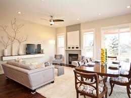 wonderful living room and dining room combined for small home