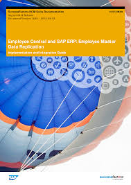 successfactors sap ec erp masterdata documents