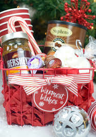 hot chocolate gift hot chocolate gift basket for christmas squared