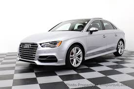 audi catalog 2016 used audi s3 certified s3 quattro awd sedan tech navigation