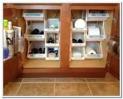under bathroom sink storage under sink storage bathroom solutions home design ideas