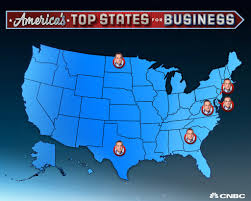 Cheapest State America U0027s Top States For Business 2017